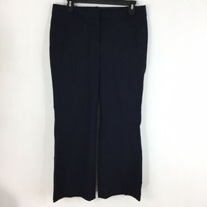 J. Crew Pants - J Crew Teddie Fit Trouser Pants Navy Blue Cropped